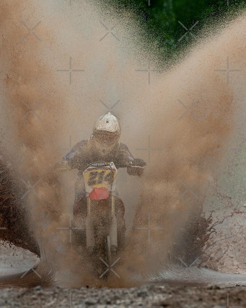 Motocross by (Tallow) Dave  Van de Laar