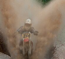 Motocross by (Tallow) Dave  Van de Laar