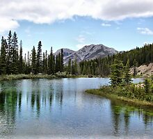 Mount Lorette Ponds by Vickie Emms