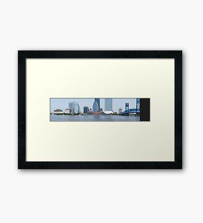Downtown Jacksonville Framed Print