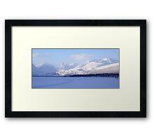 Kebnekaise Mountain/Glacier Framed Print