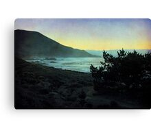 Evening on the California Coast Canvas Print