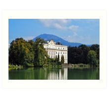 The Von Trapp Villa Art Print