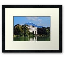 The Von Trapp Villa Framed Print
