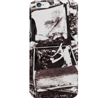 Old Record Player iPhone Case/Skin