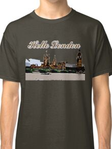 Beautiful London Bigben& Thames river Classic T-Shirt