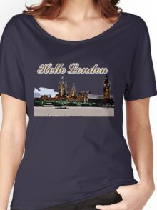 Beautiful London Bigben& Thames river Women's Relaxed Fit T-Shirt