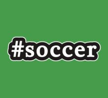 Soccer - Hashtag - Black & White by graphix