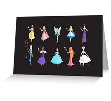 The Heroines  Greeting Card
