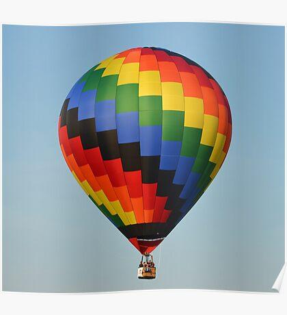 A Beautiful Hot Air Balloon Poster