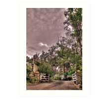 Entrance to a Peaceful Place Art Print