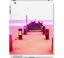 Out to Sea- Magenta iPad Case/Skin