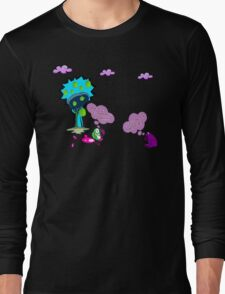 Unique funny cartoon about life Long Sleeve T-Shirt