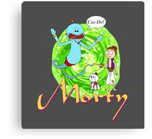 Morty Aladdin Parody  Canvas Print