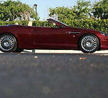 Aston Martin DB9 Vollante used in Desperate Housewives Driven BY  Gabby by Daniel  Oyvetsky