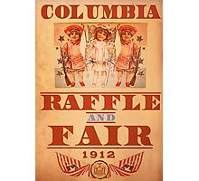 BioShock Infinite – Columbia Raffle and Fair Poster Photographic Print