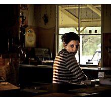nindigully barmaid Photographic Print