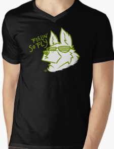 Mad Dogs: FLY G-Shep Mens V-Neck T-Shirt