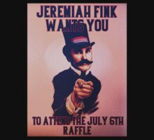 BioShock Infinite – Jeremiah Fink Wants YOU Poster by PonchTheOwl