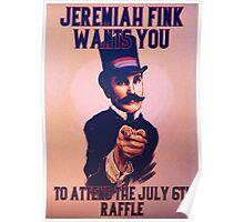 BioShock Infinite – Jeremiah Fink Wants YOU Poster Poster
