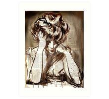misery Art Print