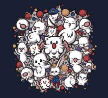 Final Fantasy Moogles - Pom Pom Party One Piece - Long Sleeve