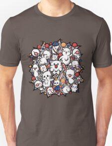 Final Fantasy Moogles - Pom Pom Party Unisex T-Shirt