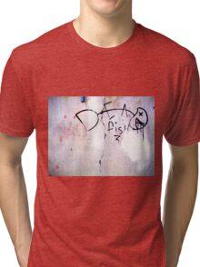 Dead Fish - Urban Art Design Tri-blend T-Shirt