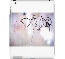 Dead Fish - Urban Art Design iPad Case/Skin