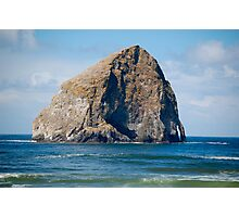 """Haystack Rock"" Photographic Print"