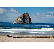 """Haystack Rock"" Photographic Print"