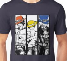 One Piece Brothers - colored hats Unisex T-Shirt