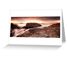 Dawn-Black Head-NSW Mid North Coast Greeting Card
