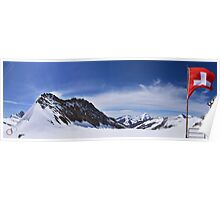 Jungfraujoch Views - the Spirit of Switzerland Poster