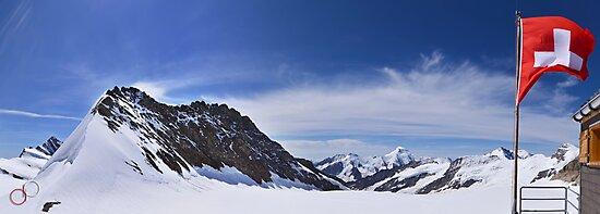 Jungfraujoch Views - the Spirit of Switzerland by Luke Griffin
