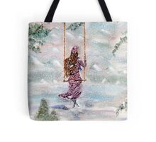 Swing Me Adrift Tote Bag