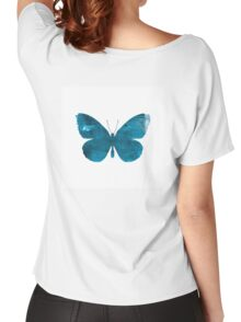Ink Butterfly - Denim Women's Relaxed Fit T-Shirt