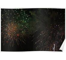 Nashville,TN - July 4, 2011 Fireworks From the Gulch  Poster