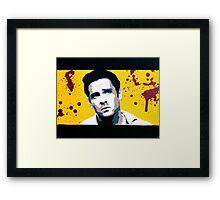 Reservoir Dogs- Mr. Blonde Framed Print