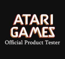 Atari games by stixcreatur