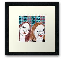 Tina Fey & Amy Poehler  Framed Print