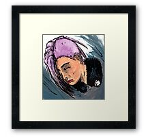 Punk Peace Framed Print