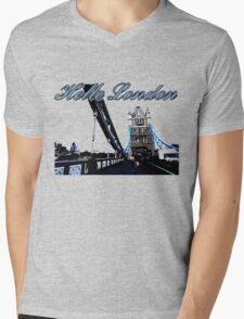 Beautiful London Tower bridge Mens V-Neck T-Shirt