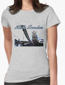 Beautiful London Tower bridge Womens Fitted T-Shirt