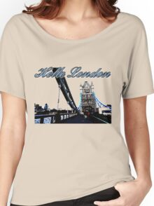 Beautiful London Tower bridge Women's Relaxed Fit T-Shirt