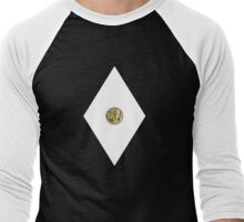 Mastodon Power Coin - Mighty Morphin Power Rangers - Cosplay Men's Baseball ¾ T-Shirt