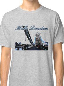 Beautiful London Tower bridge Classic T-Shirt