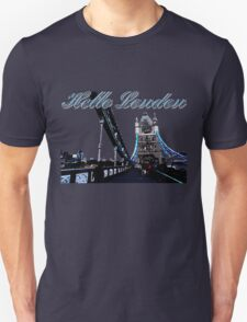 Beautiful London Tower bridge Unisex T-Shirt