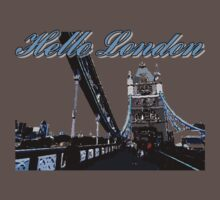 Beautiful London Tower bridge One Piece - Short Sleeve