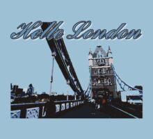 Beautiful London Tower bridge Kids Clothes